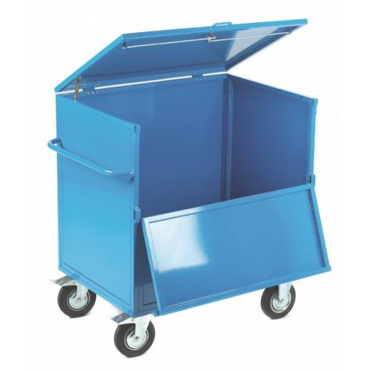 Solid Panel Security Trolley