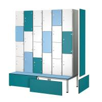 Aluminium Wet Area Lockers