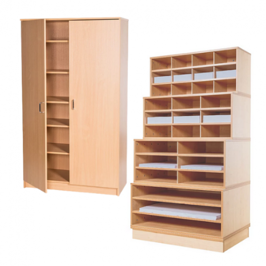 Classroom Material Storage