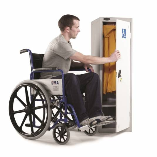 Disabled Access Lockers