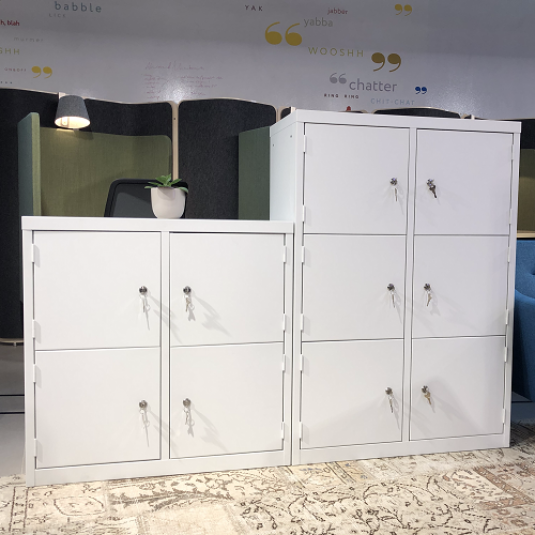 Flexible Workspace Lockers