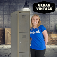 Urban Vintage/Retro Lockers