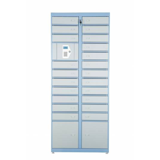 Keyless Electronic Access Lockers