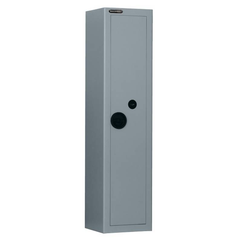 High security storage cabinet for guns and ammunition
