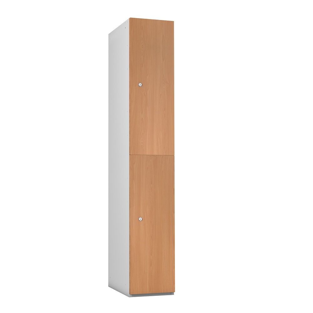 timber box lockers from Lockertek. Perfect for public areas of bowls clubs
