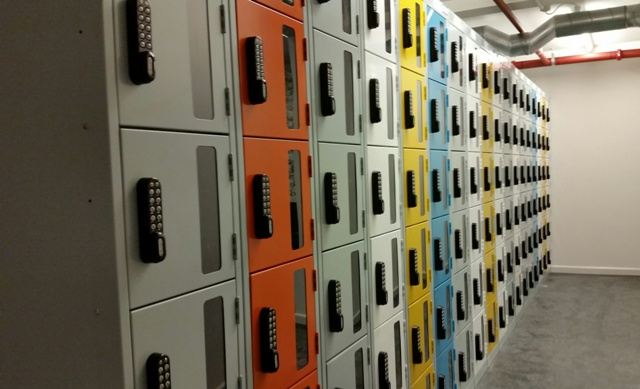 Retail staff lockers