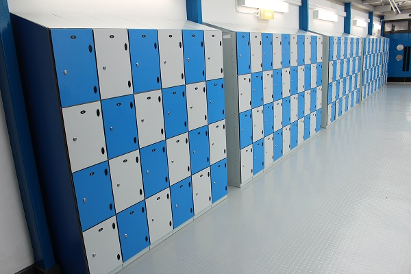 Robust school lockers