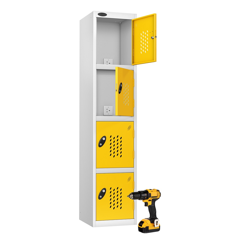 Tool charging lockers are a versatile choice not only for tools! - Lockertek