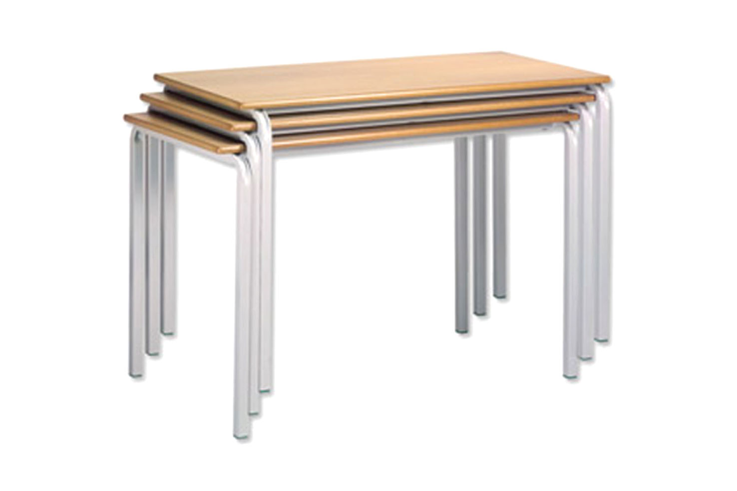Rectangle Stacking Classroom Table by Lockertek