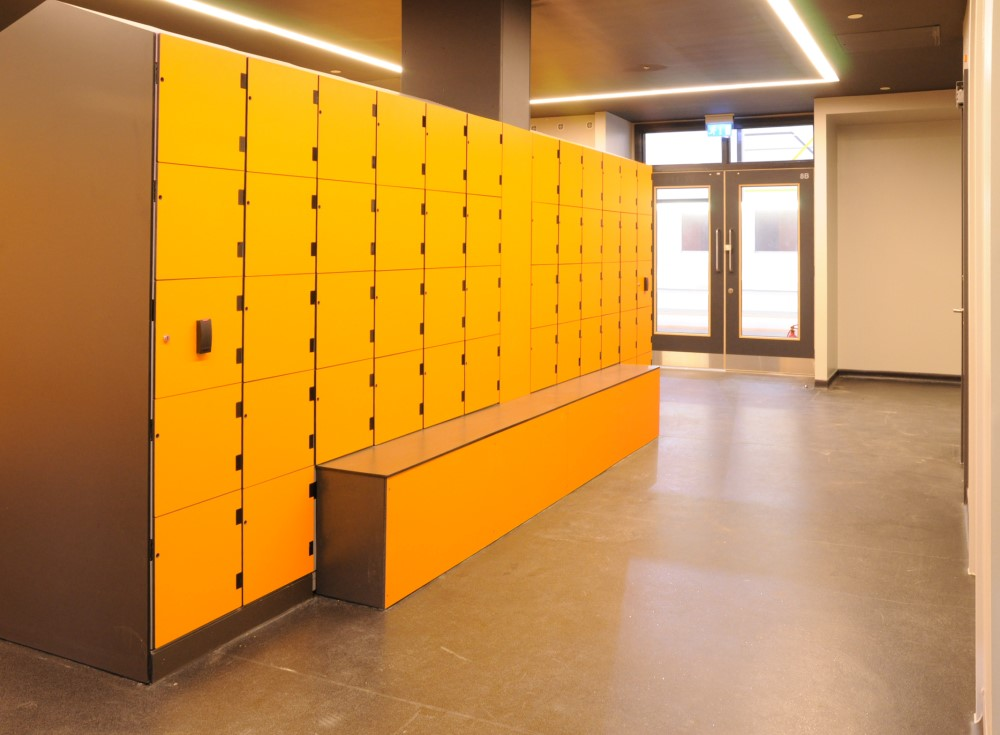 Keeping your gym lockers clean and sanitary is important to your businesses image - lockertek