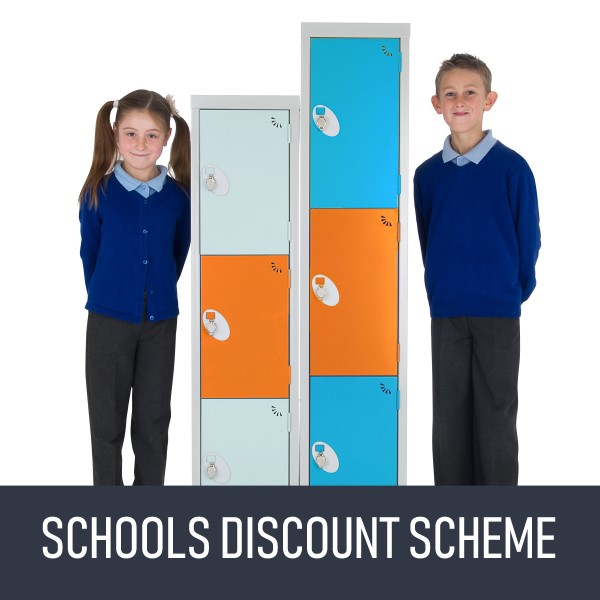 Discount scheme for schools at lockertek